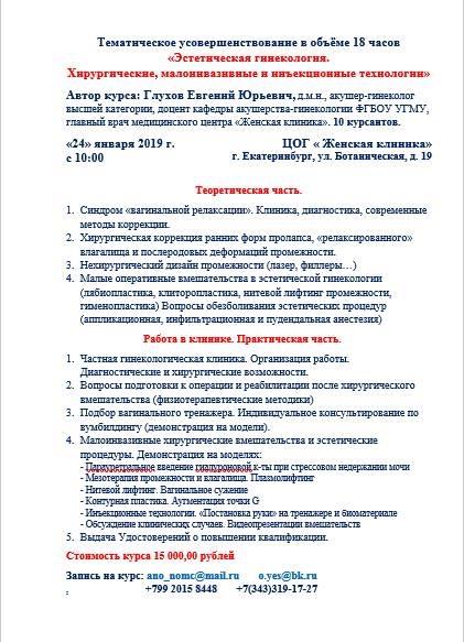 Екатеринбург 24.01.2019