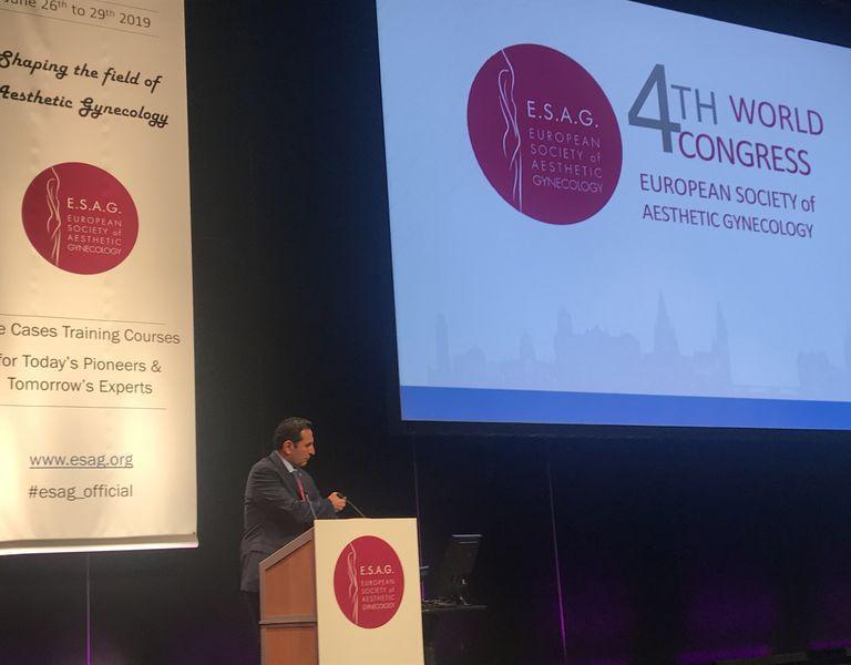 Эдинбург ESAG 4 Мировой конгресс эстетической гинекологии